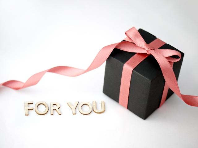 記念にプレゼント