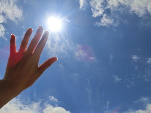 紫外線から肌を守る「UVカット」