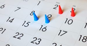 Minimum 2 business days