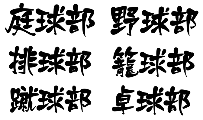 Kanji notation